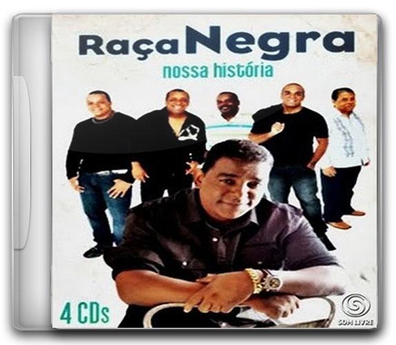 capa+CD Baixar CD Coletânea Box   Raça Negra   Nossa História Completa Ouvir mp3 e Letras .