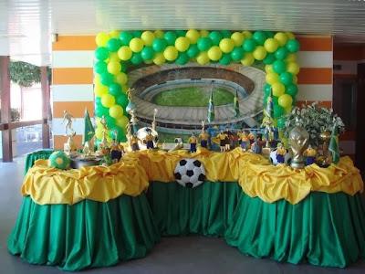 Decoração da Casa para Copa 2014