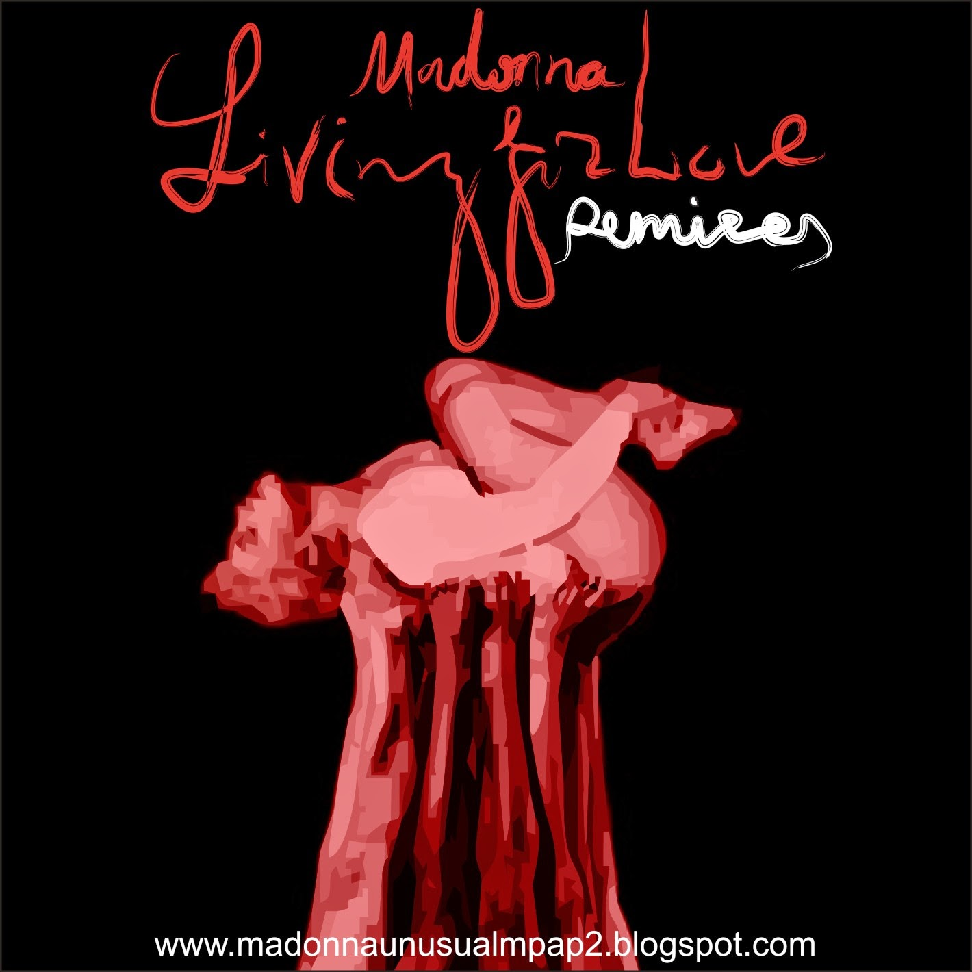 Madonna_Living for Love_Remixes_by MPAP 2015