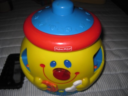 juaimurah fisher price singing sorter pot