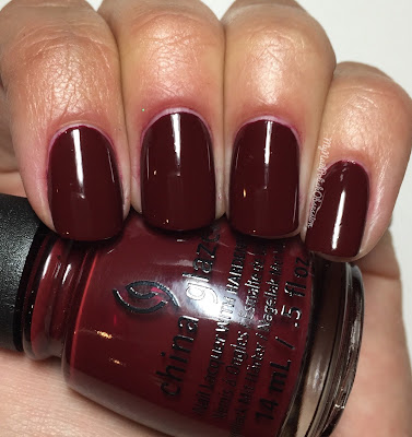 China Glaze Wishes; Wine Down For What?