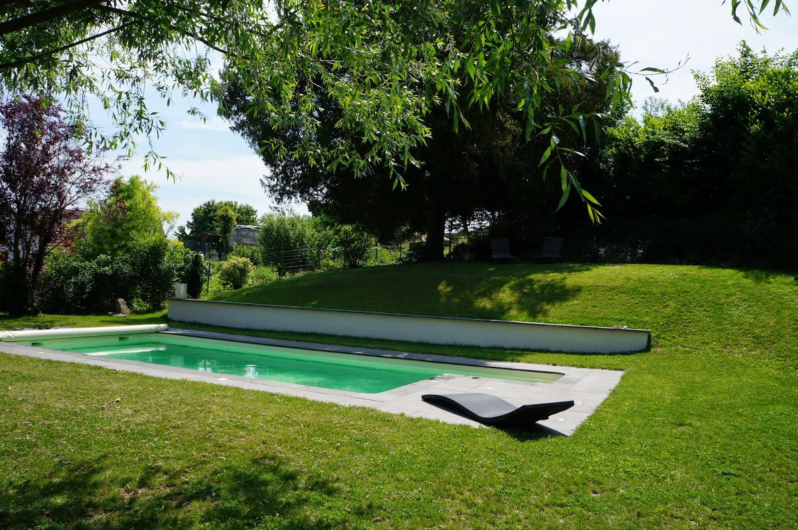 La piscine maison traditionnelle alsacienne steinbrunn for Piscine 3 05 x 0 91
