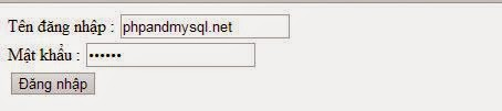 Form và xử lý form trong PHP