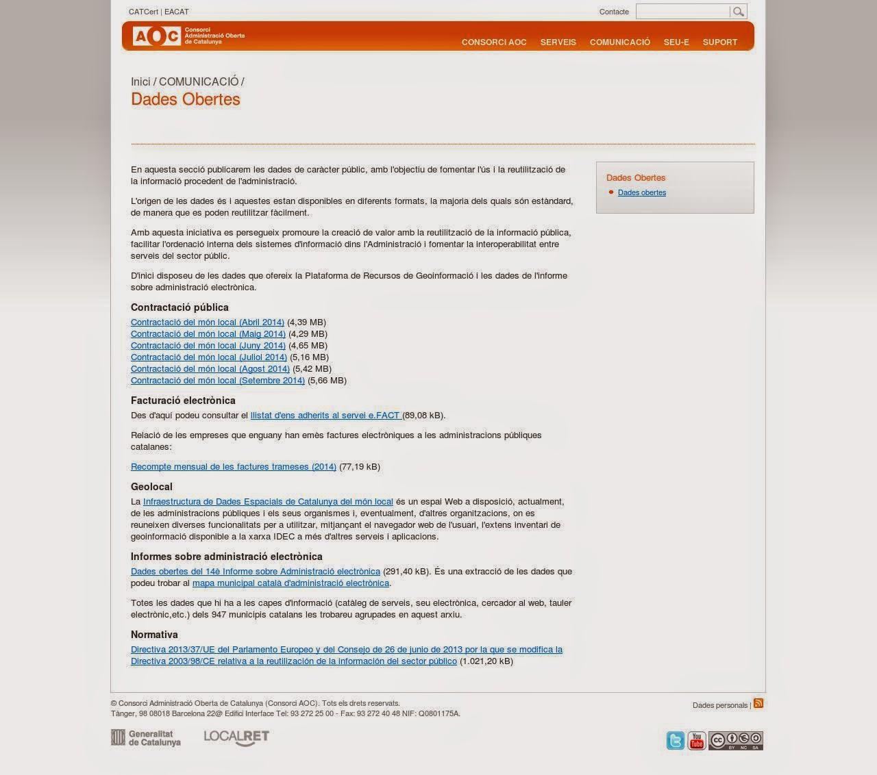 http://www.aoc.cat/Inici/COMUNICACIO/Dades-Obertes