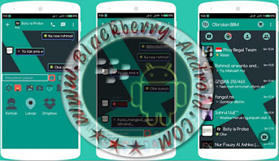 BBM Mod Tema Neo Lollipop v2.9.0.51 Apk Backup Free Sticker
