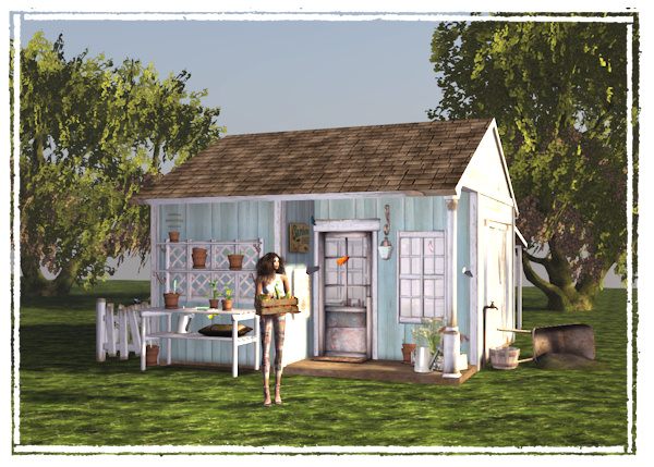 Chic at Phil\'s Place: SL Home and Garden Expo - Funky Junk