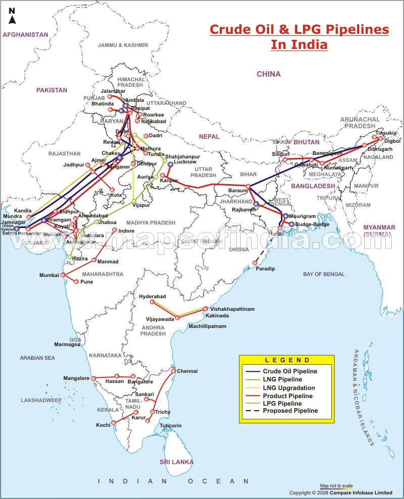 ElectricityEnergy Sector Of India Maps And International Relations - Nuclear plants in india map