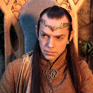 Internet photo of Lord Elrond with circlet/crown.