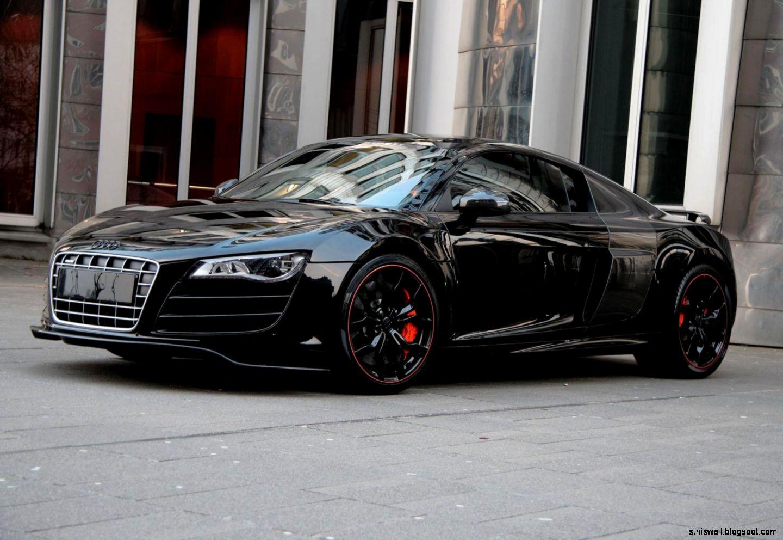 audi r8 black  Popular Cars