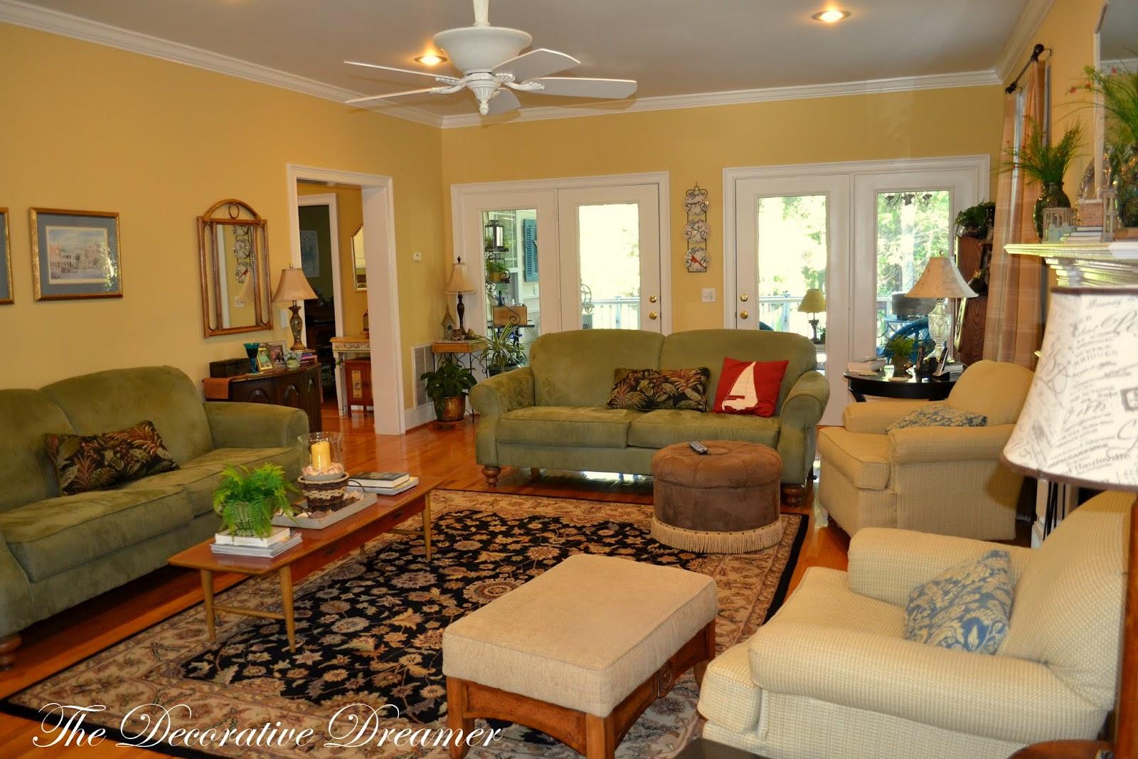The Decorative Dreamer Summer Living Room