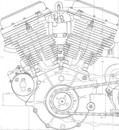 harley davidson shovelhead engine blueprints