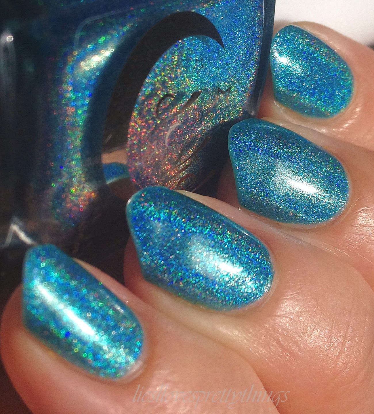 Celestial Cosmetics Inception swatch and review