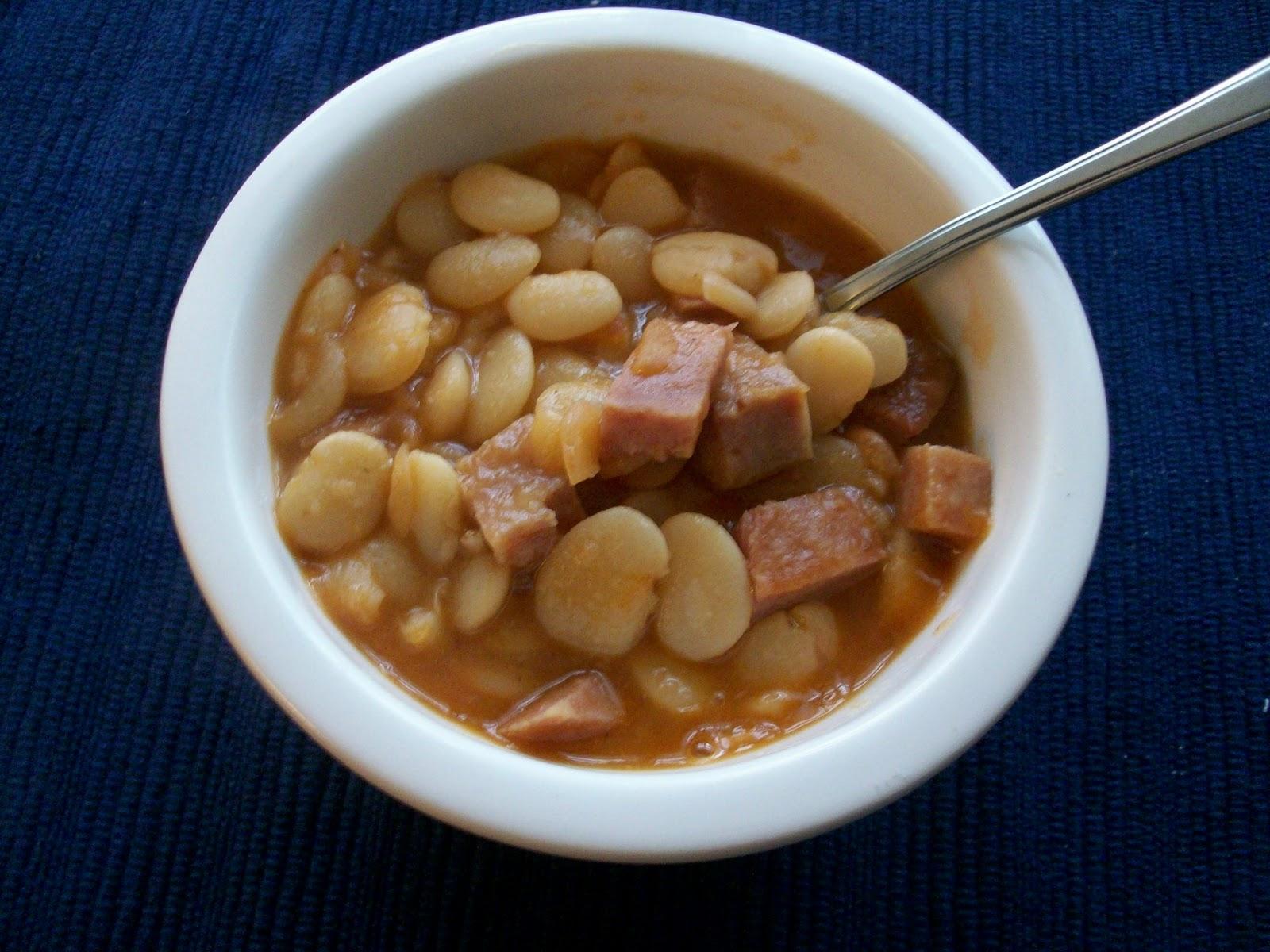 Stir, Laugh, Repeat: Lima Bean Soup