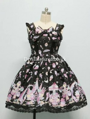 Sweet Printed Dolly Rococo Lolita Dress