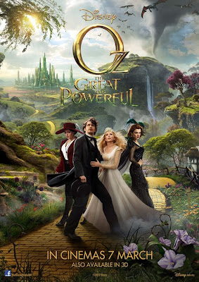 Oz the Great and Powerful 2013 film large movie poster
