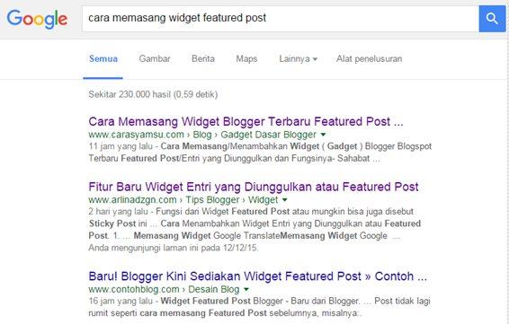 Fitur Terbaru Blogger Blogspot  2015 Ramai Disosialisasikan oleh para Admin Blog yang Responsif