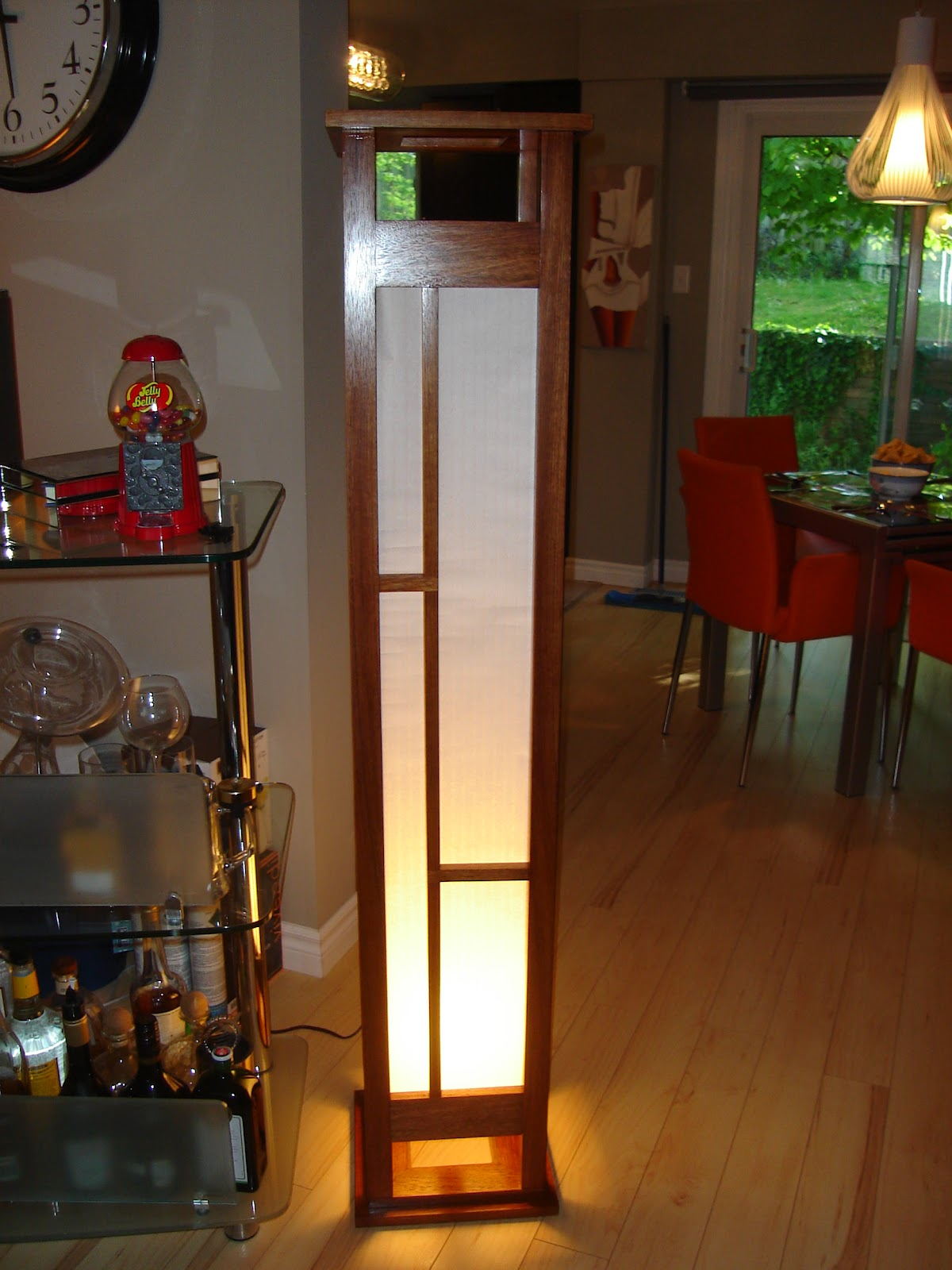 Japanese Floor Lamp G U0027s Wood Shop A Gift Given Shoji Screen Japanese Floor  Lamp Jfl