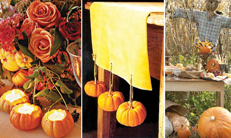 Autumn party favors autumn posters picture for Autumn wedding decoration