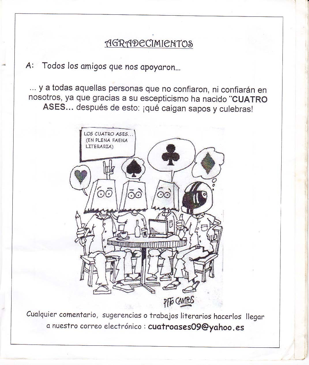 CUATRO ASES NÚMERO 1