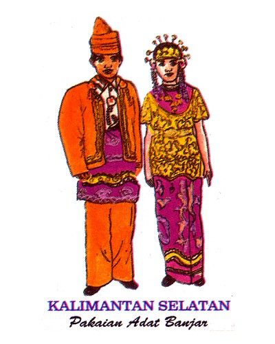 pakaian adat berbagai provinsi di indonesia