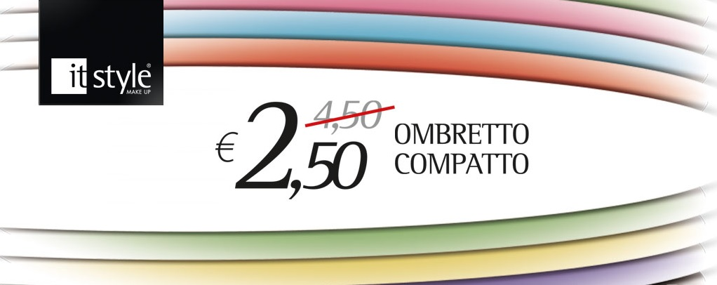 ItStyle make up - ombretto compatto a 2,50€