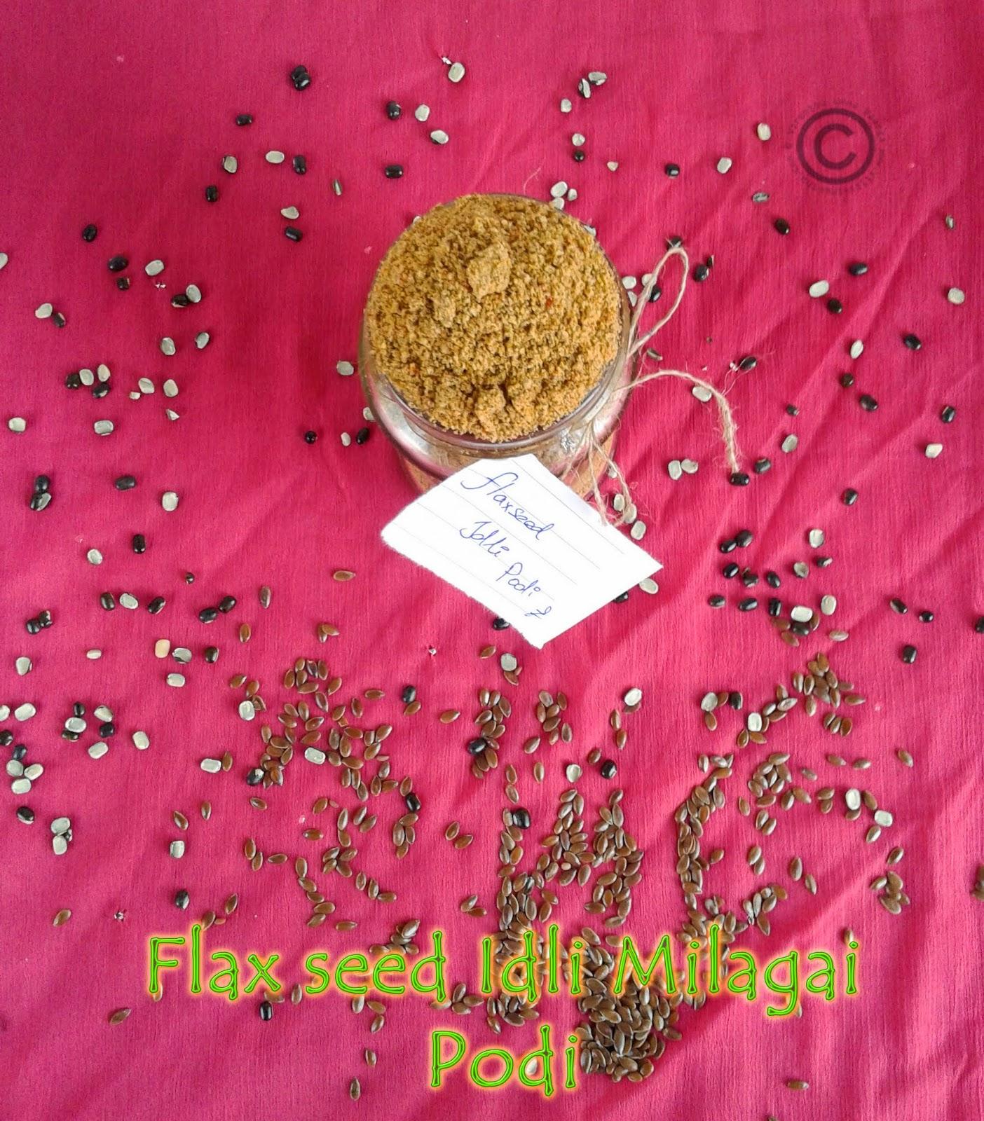 flax-seed-idli-podi