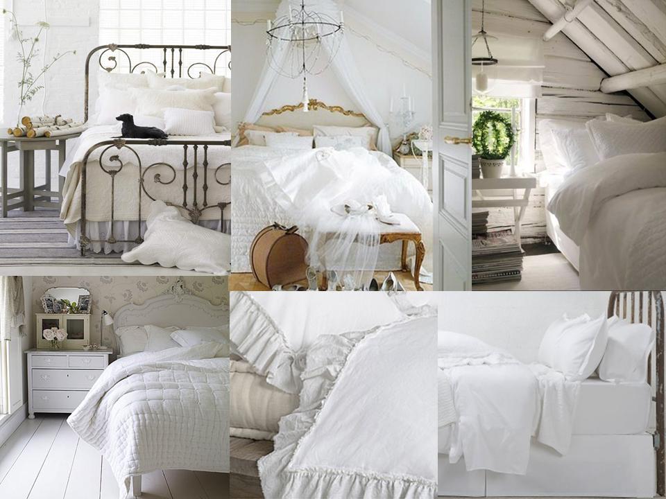 Boiserie c ricreare un arredamento stile urban cottage - Camere da letto stile provenzale ...