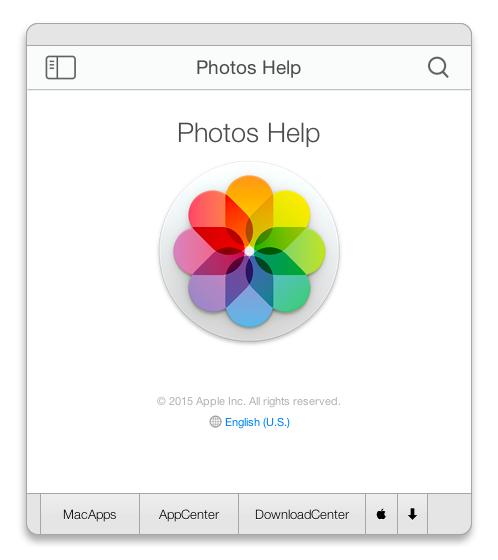Photos Help