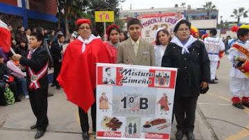 ACTIVIDADES POR FIESTAS PATRIAS, FERI REGIONAL Y II PASACALLE DE LA PERUANIDAD 2011