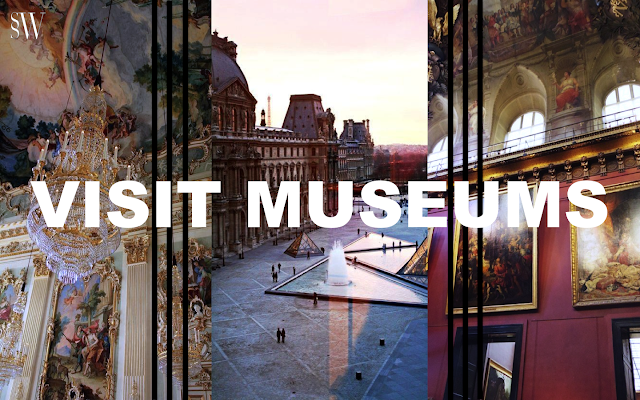 VISIT MUSEUMS | SO SHE WROTE