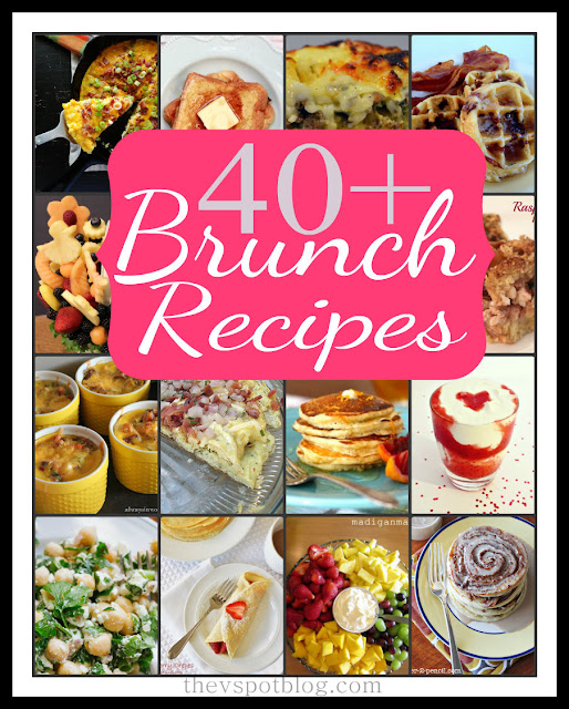 A fabulous collection of recipes for Brunch (Mother's Day, Bridal or Baby Showers...or just because!)