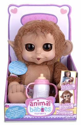 TOYS : JUGUETES - ANIMAL BABIES Chimpance : Muñeco de Peluche Producto Oficial 2015 | Famosa700011802 | A partir de 2 años Comprar en Amazon España