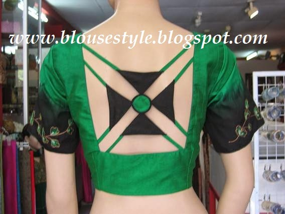 back neck blouse