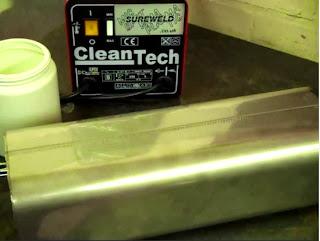 Hướng dẫn sử dụng máy làm sạch mối hàn inox CleanTech (Ý)