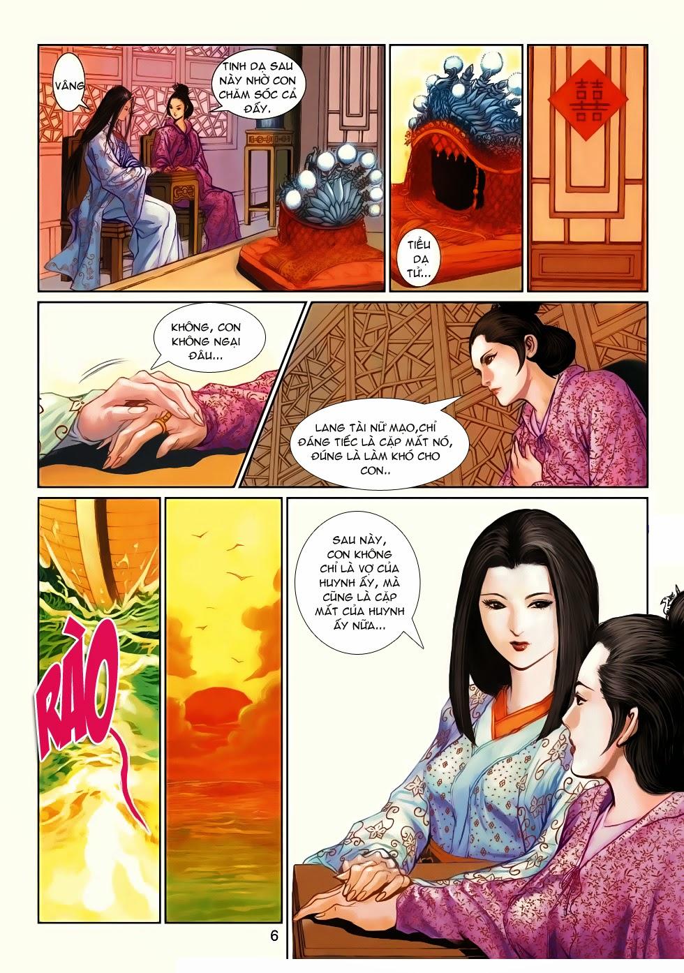 Thần Binh Tiền Truyện 4 - Huyền Thiên Tà Đế chap 10 - Trang 6