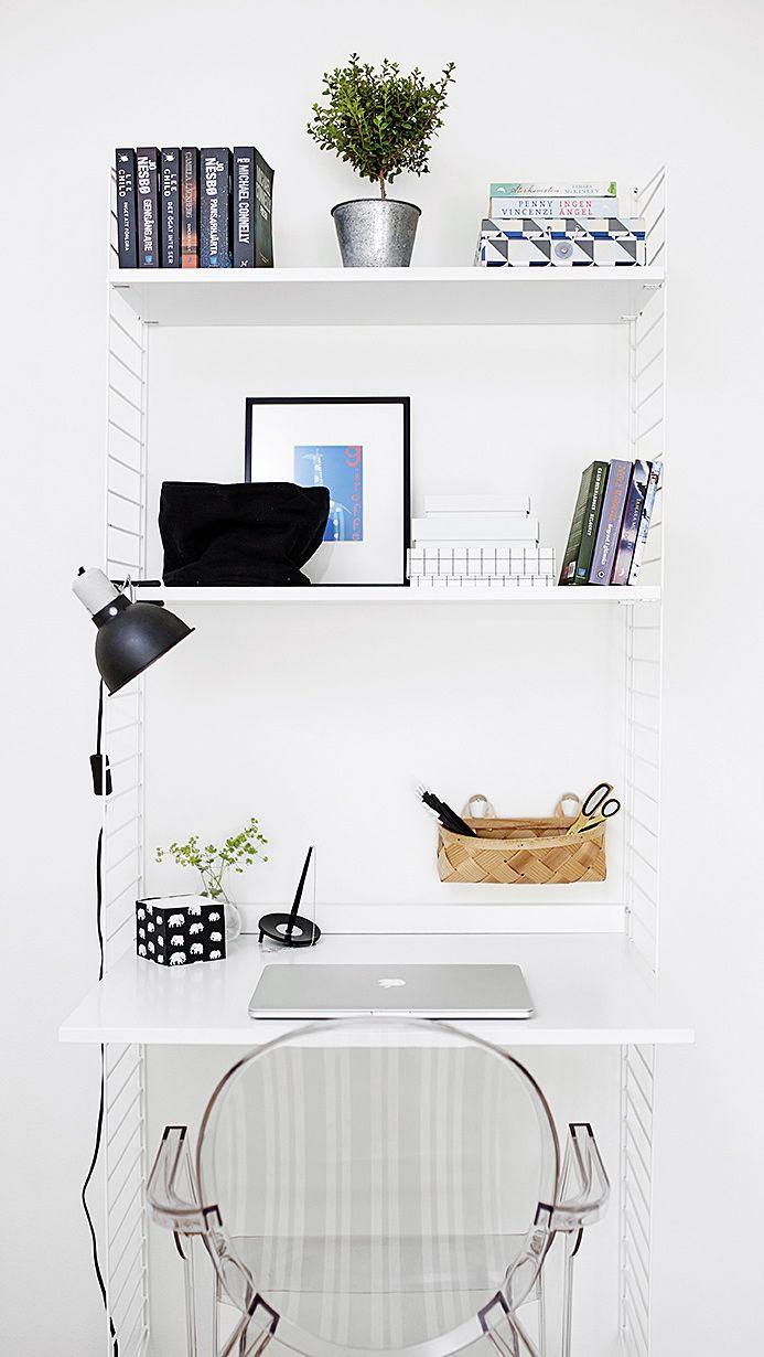 Zonas de trabajo en espacios peque os alquimia deco - Alquimia deco ...