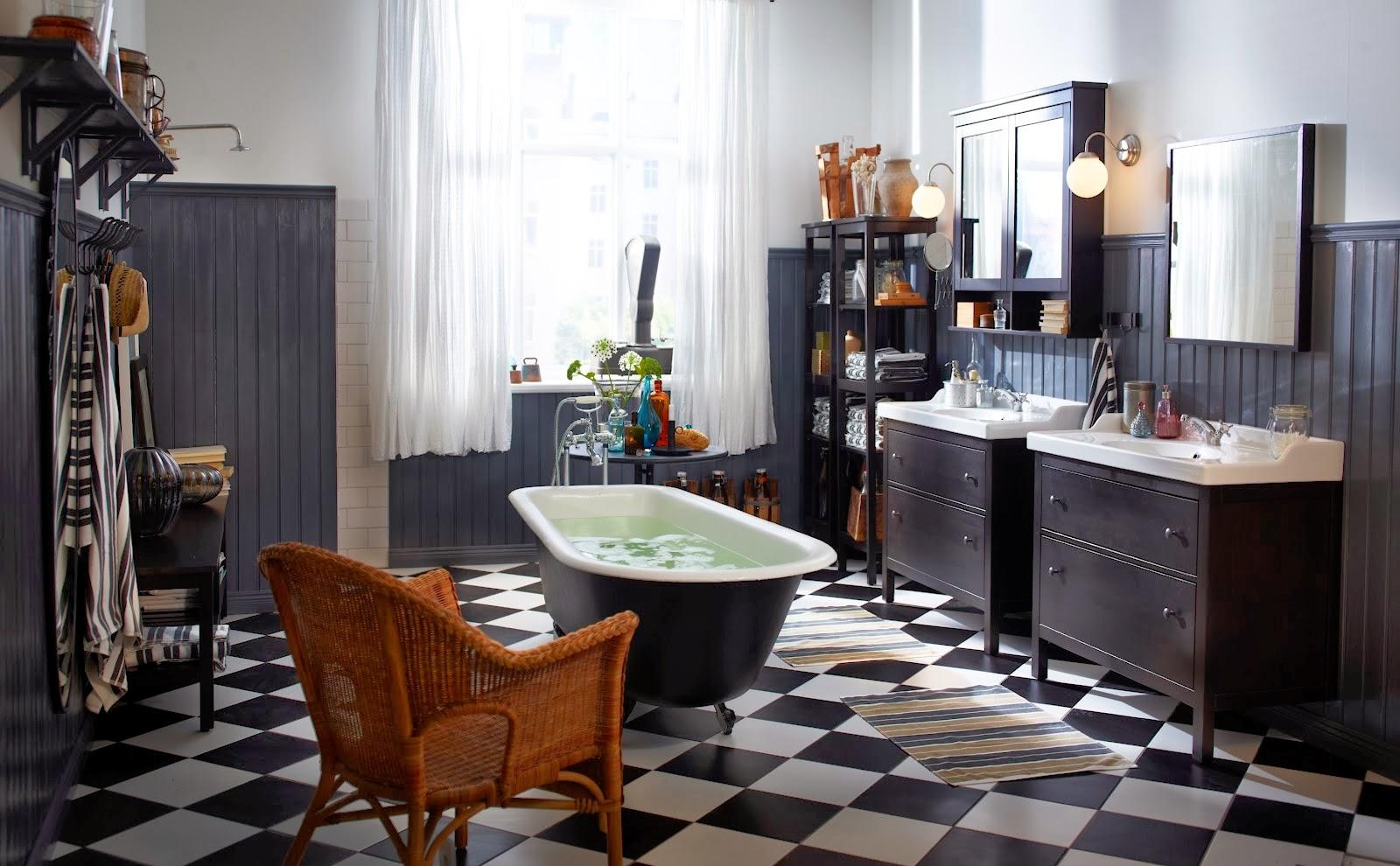 Livet på säludden: litet badrum