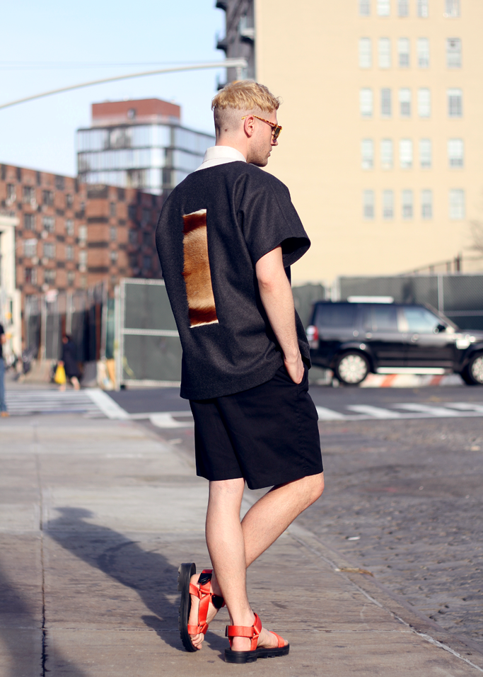 Fashionable Teva-style sandals for men.