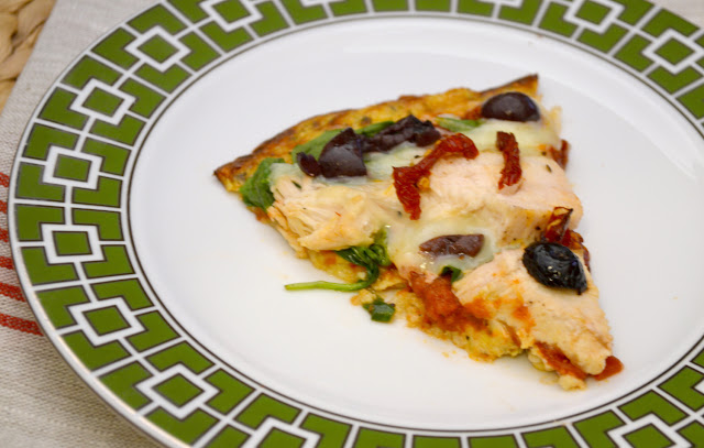 pizza on cauliflower crust recipe