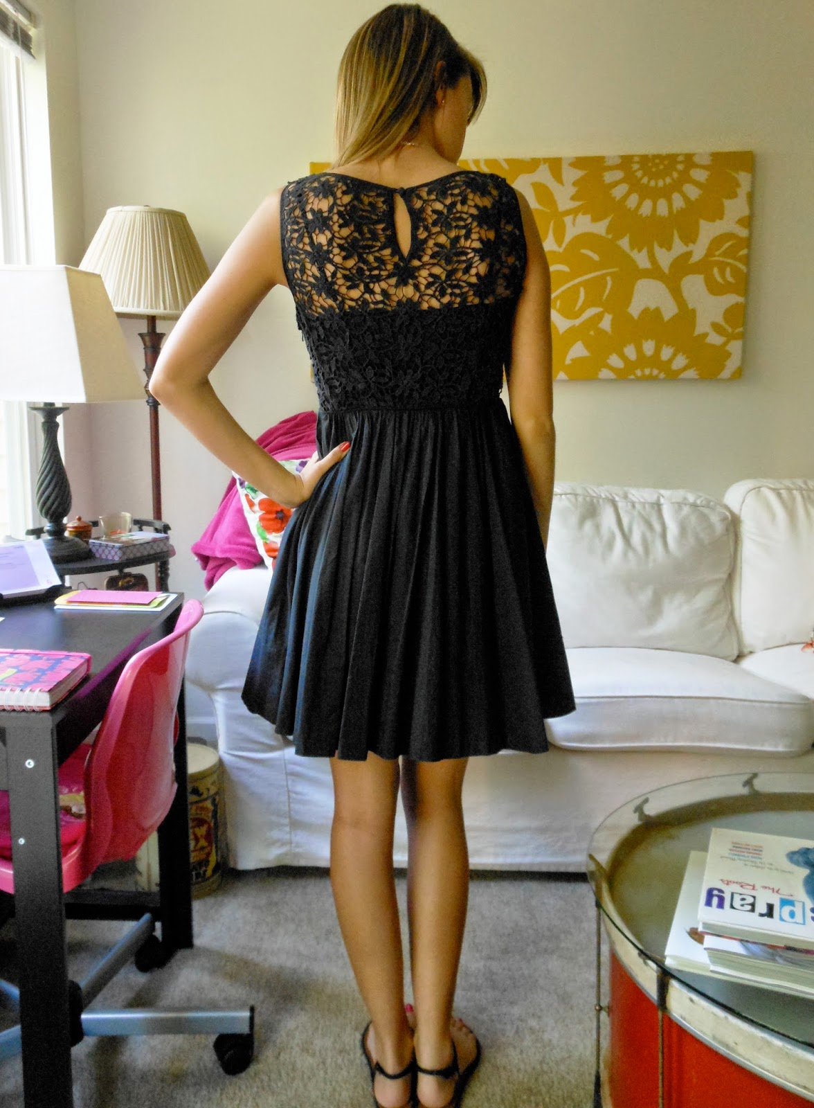 Dress up elements - It S Just My Go To Dress And Can Easily Be Dressed Up And Down Plus The Lace Back And The Pockets Add Some Fun Elements