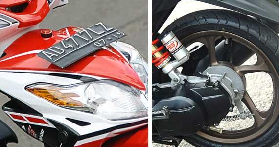 Gambar Contoh Modifikasi Yamaha Xeon 125 title=