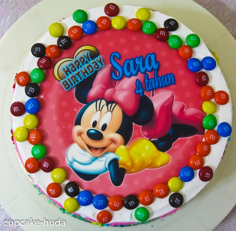 Happy Birthday Sara Rina Cupcake Huda