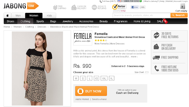 Jabong.com- An Online Shopping Extravaganza. image