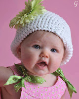 Cute Kids Images With White Cap - Babies Pics