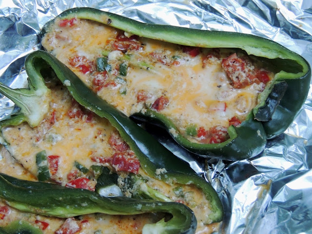 Leave a Happy Plate: Food Blogger Gone Wild + Stuffed Poblano Peppers