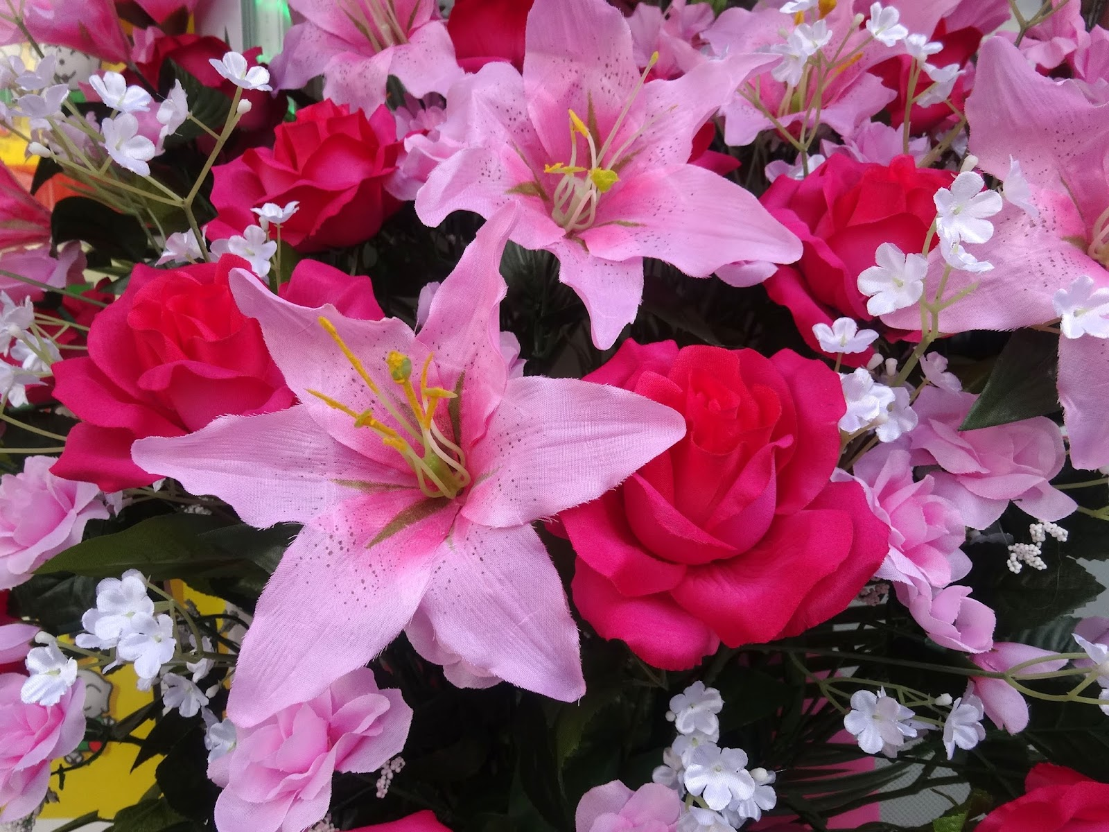 造花,花輪〈著作権フリー画像〉Free Stock Photos