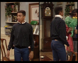 Cosby Show Huxtable fashion blog 80s sitcom Lyle Thompson Dennis Singletary