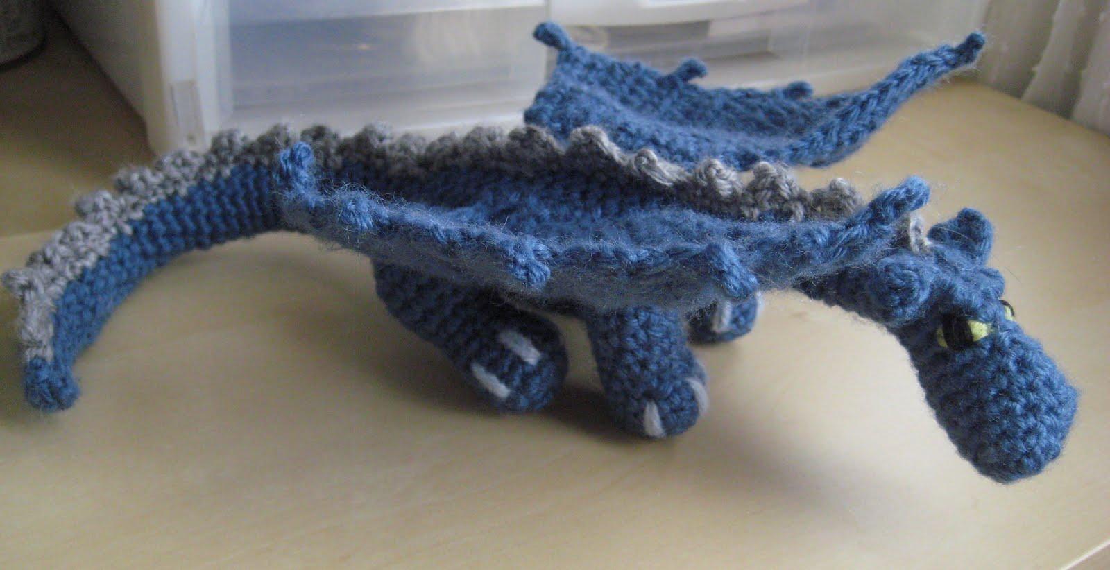 Amigurumi Dragon Wings : Anktangle: amigurumi dragon