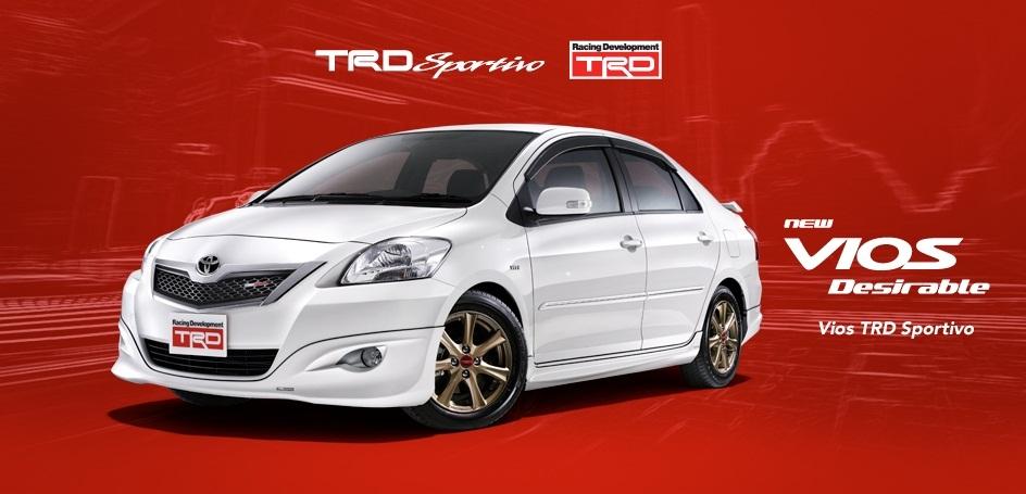Toyota Vios TRD Sportivo