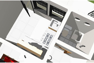 Gambar desain rumah dapur kamar mandi